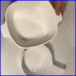 12 pc Set Vintage Corning Ware Blue Cornflower Casserole Baking Dishes with lids
