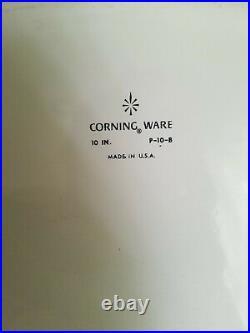 1960's Vintage Corning Ware Blue Cornflower Casserole 10 in. P-10-B withLid