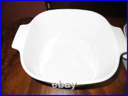 6 pc Set Vintage Corning Ware Wildflower Casserole Baking Dishes with lids