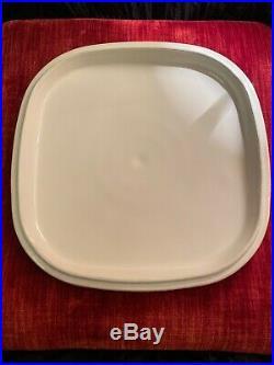 C. 1958 VERY Rare Vintage Corning Ware Blue Cornflower Pyroceram A 19 Baking Dish