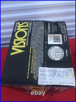 CORNING VISIONS 6 PIECE SET V-300-N SEALED IN ORGINAL BOX Vintage RARE