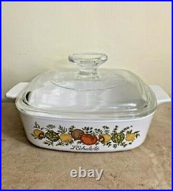 Collectable Vintage Corning Ware A-1-B Spice of Life 1 Quart Casserole Lid A7C