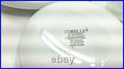 Corelle by Corning ware Lyrics Black dinner set Black leaves white Background 28