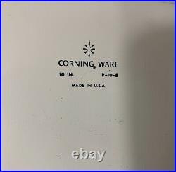 Corning Ware Blue Corn Flower set of 8 Pieces Vintage