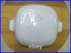 Corning Ware Blue Cornflower Dish + Lid 1 Quart P-1-B Vintage 1961-66