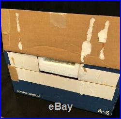 Corning Ware Cornflower Blue 5 QT Casserole A-5 Pyrex Lid UNUSED in Box Vintage