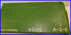 Corning Ware L'Echalote Vintage A-3-8 3 Qt. Casserole Bowl In Sealed Box