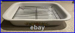 Corning Ware, LEchalote 35cm Roaster with Rack, Vintage And Rare