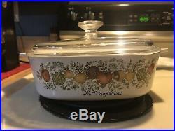 Corning Ware Spice O Life Vintage Porcelain Pots 1970 1980 Saucepan Dish NY