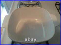 Corning Ware VINTAGE Blue Cornflower 3 Quart, Quart Casserole Dish WithLid A-3-B
