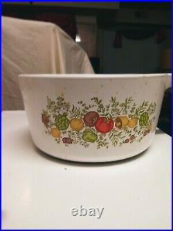 Corning ware Porcelain Antique Pot With Handle(Rare)