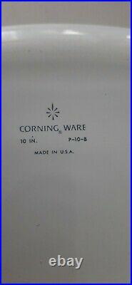 CorningWare Blue Cornflower Casserole Dish + Lid 1960s Vintage P-10B Rare