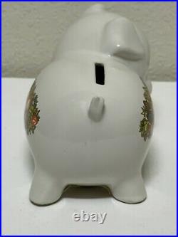 HTF Rare Vintage Corning Ware Spice of Life Pig Piggy Bank