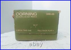 PYREX 4 pc. VERDE Oven Refrigerator Freezer Set New Unused Original Box Vintage