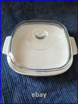 Pyrex Vintage Corning Ware Spice of Life La Romarin Casserole Dish WithPyrex Lid