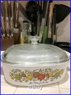 RARE Vintage Corning Ware 1960 1970 2 Qt La Marjolaine