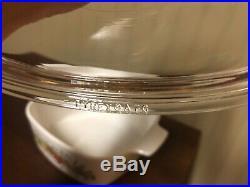 RARE Vintage Corning Ware Le Persil La Sauge A-1 1/2 -B 1 1/2 Qt Square A7C Lid