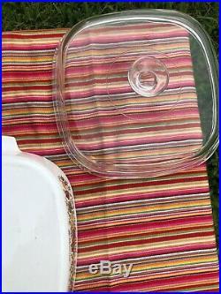 RARE Vintage Corning Ware Le Romarin Casserole Dish