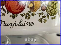 RARE Vintage Corning Ware Spice Of Life La Marjolaine 2 Quart Casserole & Lid