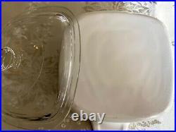 RARE Vintage CorningWare A-1 1/2-B Spice of Life 1 1/2 Quart Casserole withlid #21