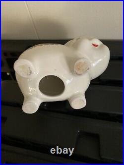 RARE Vintage CorningWare Spice of Life Pig Piggy Bank