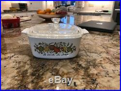 RARE Vintage Corningware With Lid Le Persil La Sauge