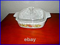 Rare 179 STAMP Vintage Corning Ware L'Echalote A -1 B Spice Of Life 1 Quart