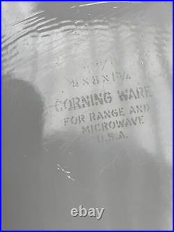 Rare Corning Ware L'Echalote A -8- B Spice Of Life 8x8x1-3/4 Vintage