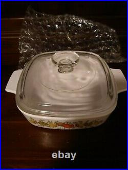 Rare CorningWare Vintage Spice Of Life Corning Ware, Width7 in Height 2 in
