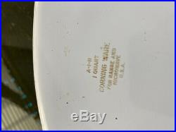 Rare SEE STAMP Vintage Corning Ware L'Echalote A 1 B Spice Of Life Charity