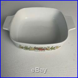 Rare SEE STAMP Vintage Corning Ware L'Echalote A 1 B Spice Of Life Range Stamp