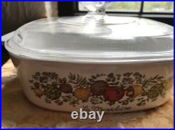 Rare SEE STAMP Vintage Corning Ware La Marjolaine A 2 B Spice Of Life