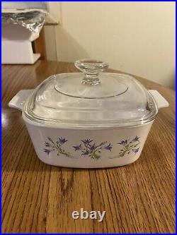 Rare Vintage Blue Bell Corning Ware Dish