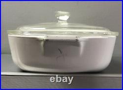 Rare Vintage Corning Ware Blue Cornflower Bake Casserole 1 Qt P-1-b