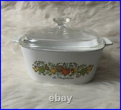 Rare Vintage Discontinued Corning Ware Spice of Life Lechalote