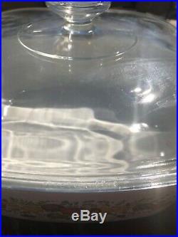 Rare Vintage L'Echalote La Sauge Pyrex 4 Quart Corning Ware with Stamp