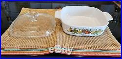 Rare Vintage Spice Of Life L'echalote 1970-80's Bake Casserole Corningware A-1-b