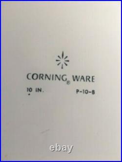 Rare -vintage-1st Edition, Corning Ware 10' Blue Cornflower Casserole Dish