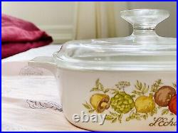 Rare vintage corningware 1960 1970 Lechalote A-1-B 1 Liter