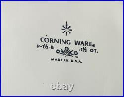 Ultra Rare Offset Stamp From 69-72 Vintage CorningWare 1.5 QT. P-1 1/2-B NO LID
