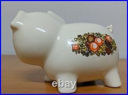 VERY RARE Vintage CorningWare Spice of Life Pig Piggy Bank (BEAUTIFUL)
