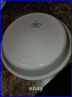 VINTAGE Corning Ware Blue Corn Flower P-309 Pie Plate 9 INCHES MADE IN USA