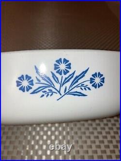 VTG 1 Qt Casserole CORNING WARE Blue Cornflower P-1-B No Lid