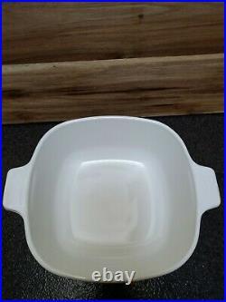 VTG 1970's Corning Ware Blue Cornflower 1 1/2 qt Casserole P 1 1/2 B With Lid
