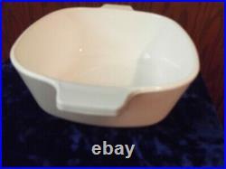 VTG Corning Ware 1 1/2 QT Cornflower Casserole Dish WithLid P-1 1/2- B USA
