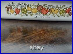 Vintage 1970s Spice of Life Corning Ware