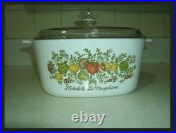 Vintage 60's corning ware spice of life