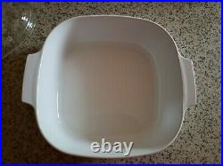 Vintage Blue Cornflower Corning ware 4-qt casserole dish