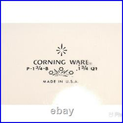 Vintage CORNING WARE Blue Cornflower Dish 1-3/4 Qt P-1 3/4-B with Lid