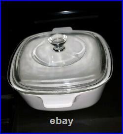 Vintage Cornflower Blue CORNING WARE P-1 1/2-B Casserole Dish 1 ½ QT. With Lid